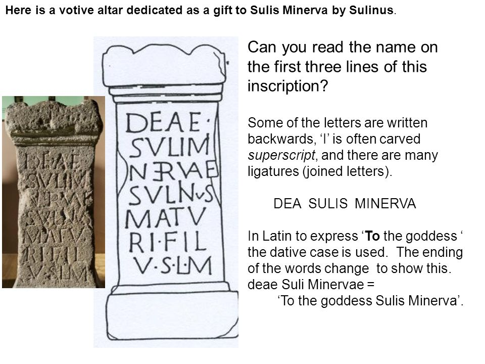 Can you read the name on the first three lines of this inscription