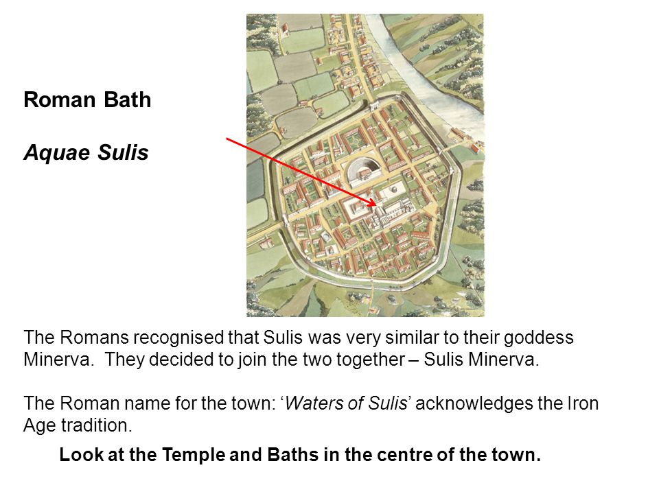 Roman Bath Aquae Sulis.