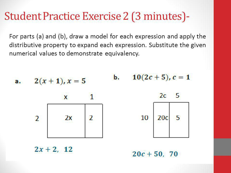 Student Practice Exercise 2 (3 minutes)-