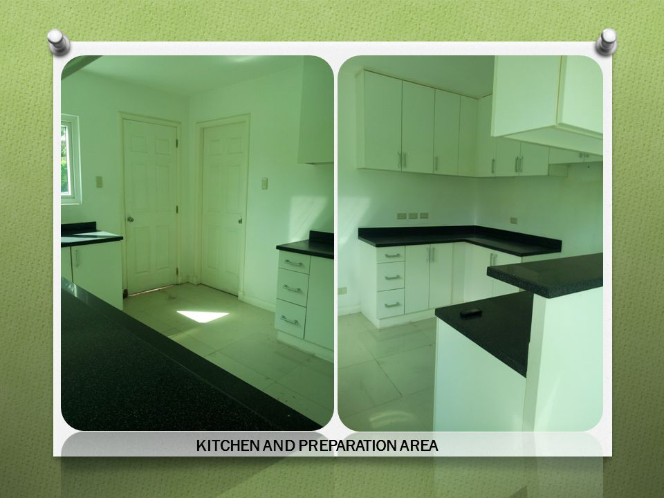 KITCHEN AND PREPARATION AREA