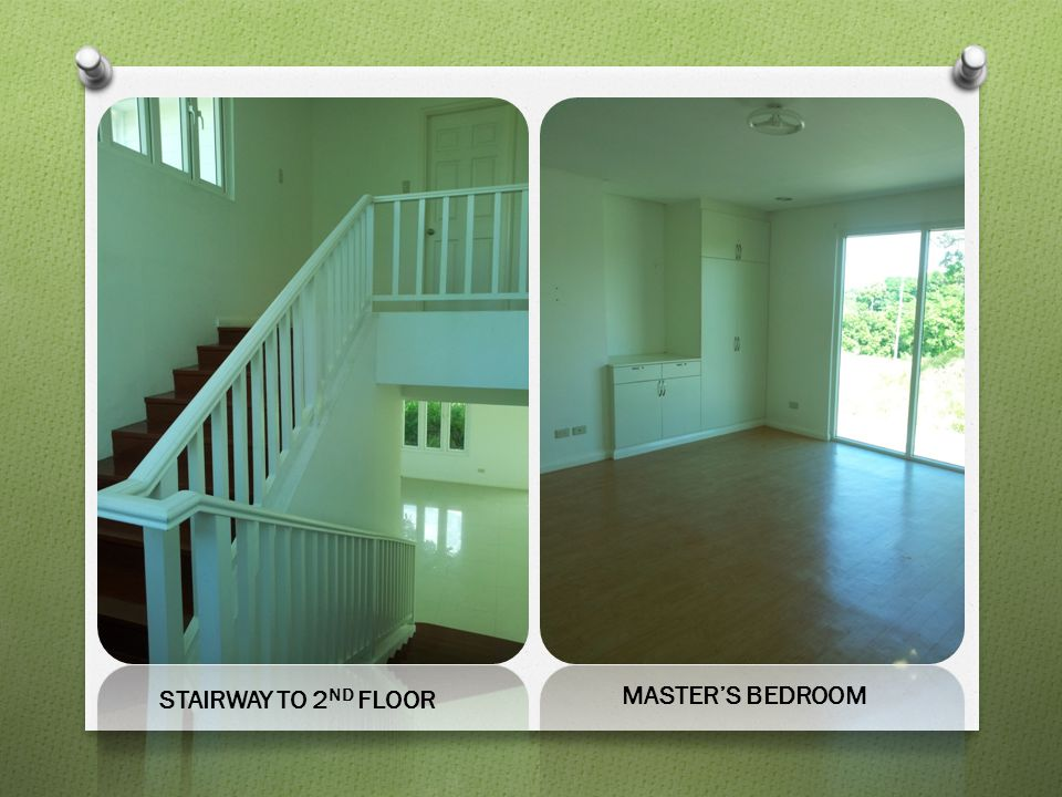 STAIRWAY TO 2ND FLOOR MASTER'S BEDROOM