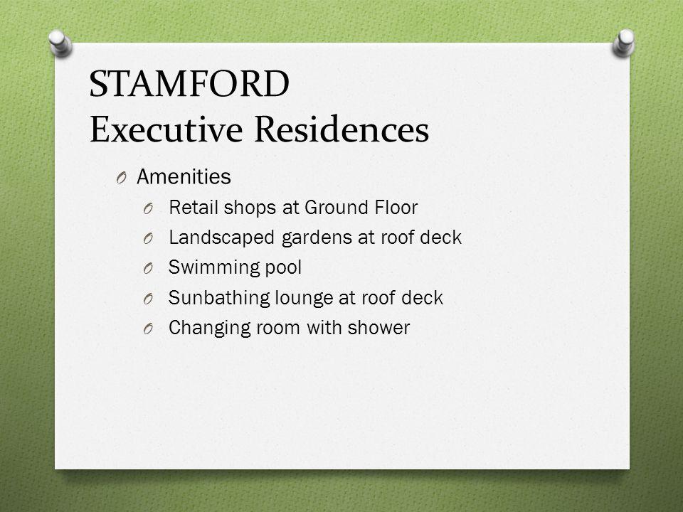 STAMFORD Executive Residences