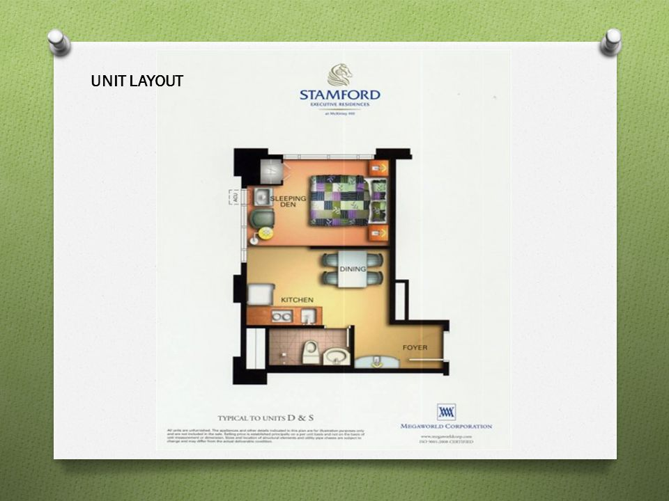UNIT LAYOUT
