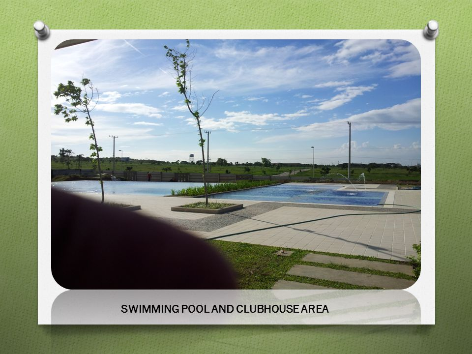 SWIMMING POOL AND CLUBHOUSE AREA