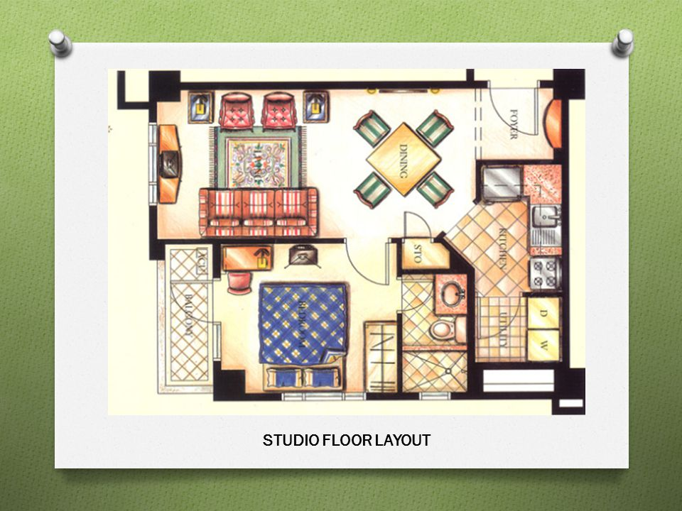 STUDIO FLOOR LAYOUT