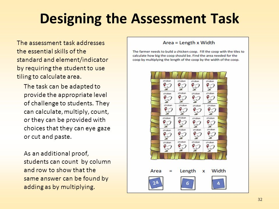 Designing the Assessment Task
