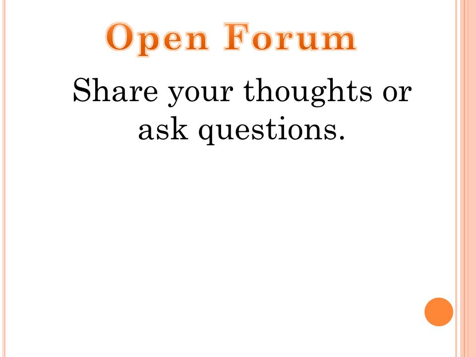 Share your thoughts or ask questions.
