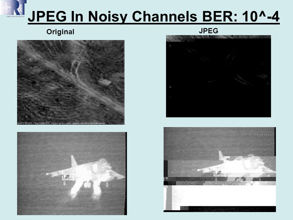 JPEG In Noisy Channels BER: 10^-4