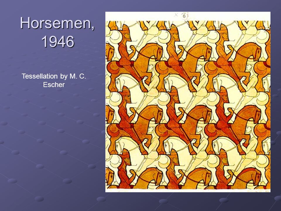 Tessellation by M. C. Escher