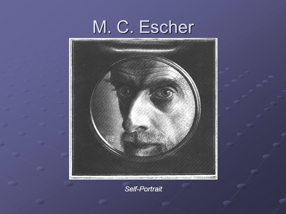 M. C. Escher Self-Portrait