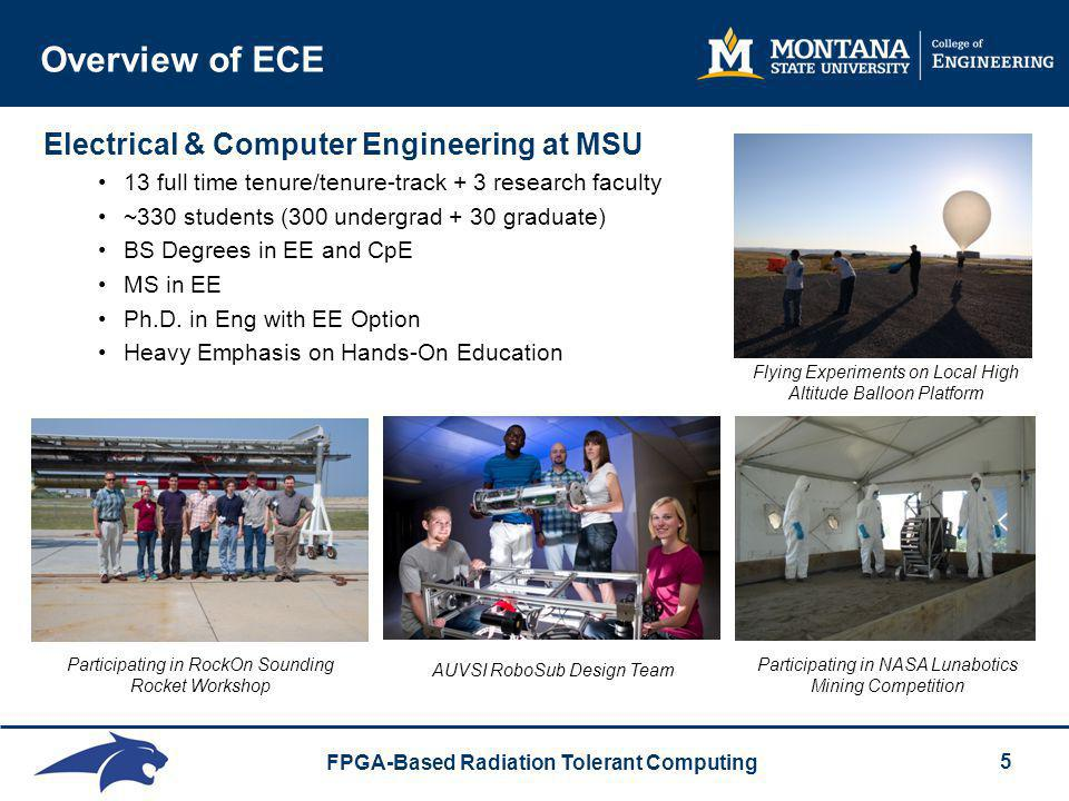 Overview of ECE Electrical & Computer Engineering at MSU