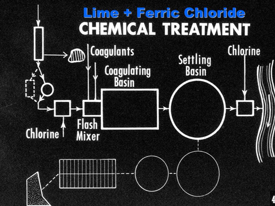 Lime + Ferric Chloride
