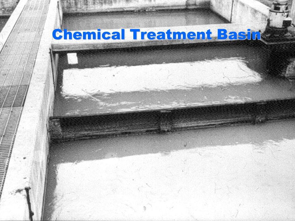 Chemical Treatment Basin