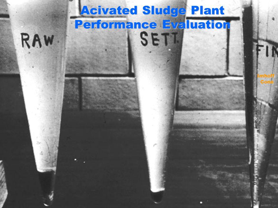 Acivated Sludge Plant Performance Evaluation