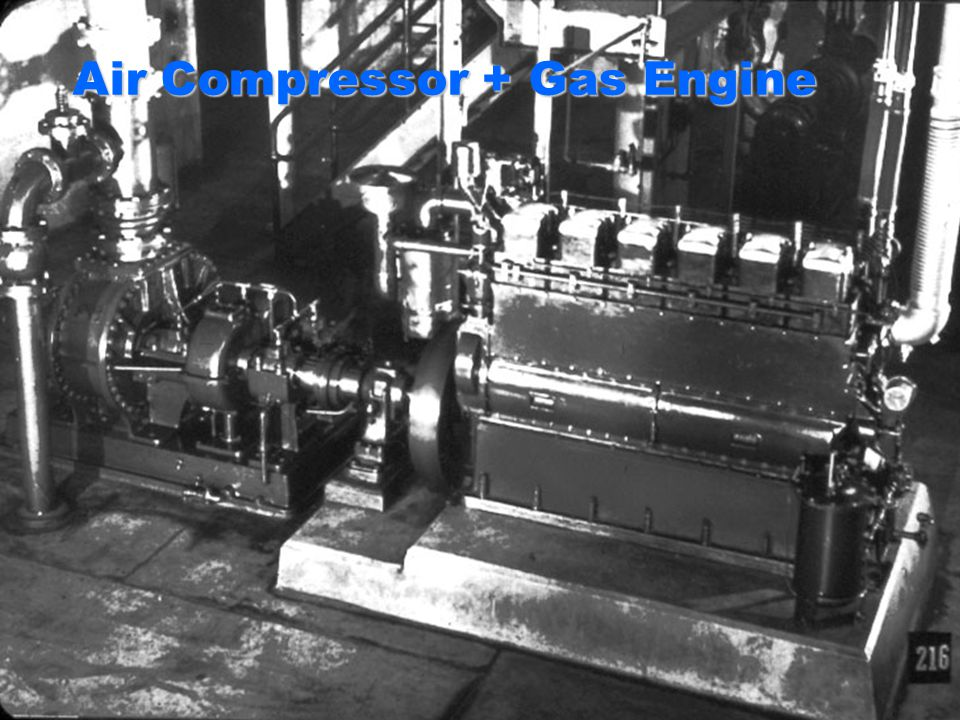 Air Compressor + Gas Engine