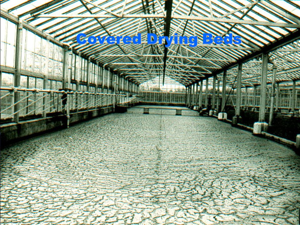 Covered Drying Beds
