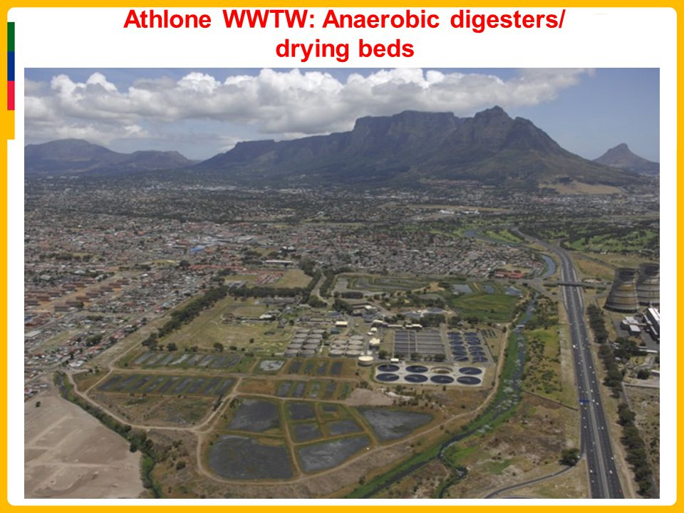 Athlone WWTW: Anaerobic digesters/ drying beds