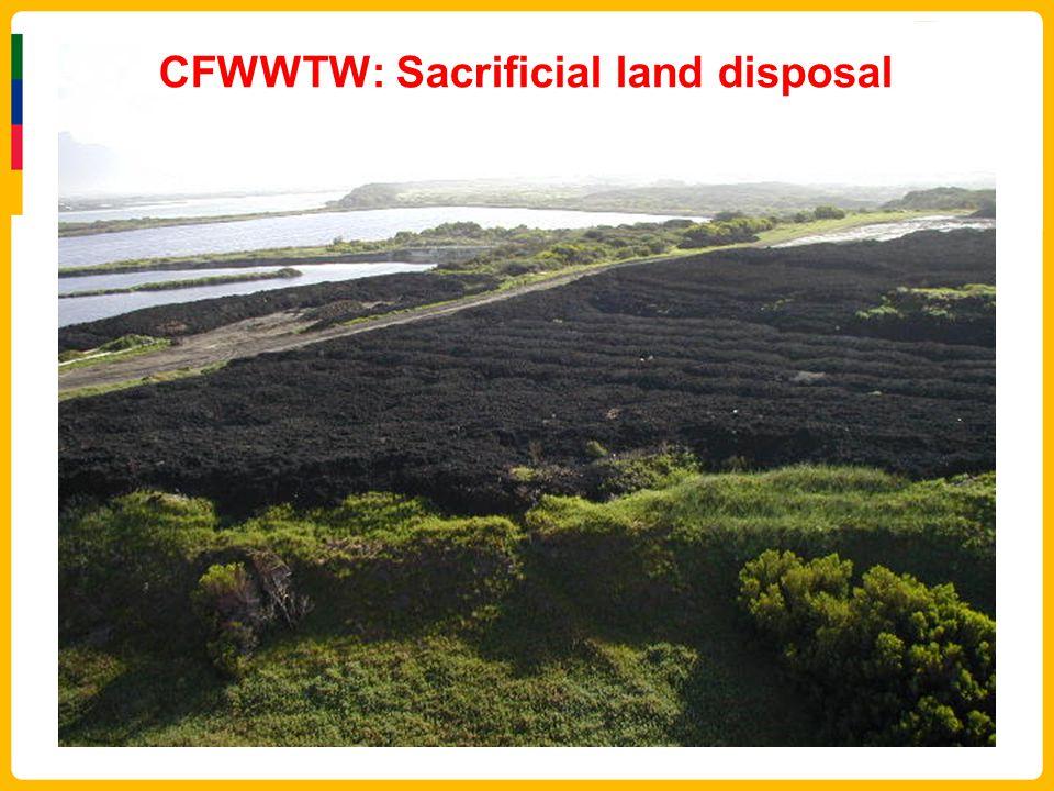 CFWWTW: Sacrificial land disposal