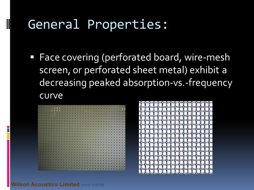 General Properties: