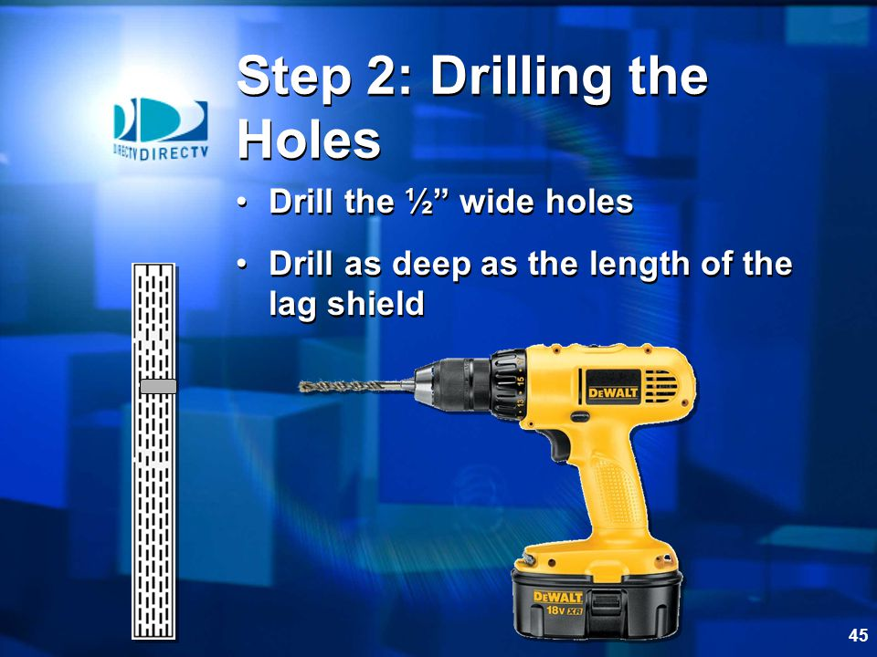 Step 2: Drilling the Holes