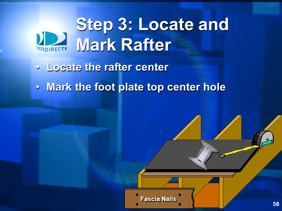 Step 3: Locate and Mark Rafter