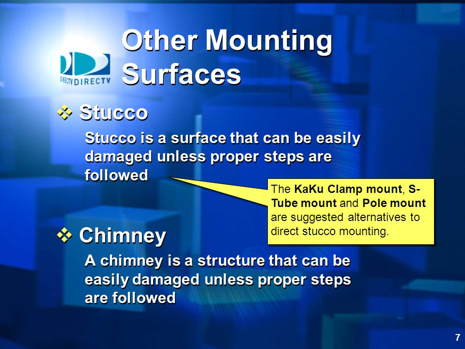 Other Mounting Surfaces