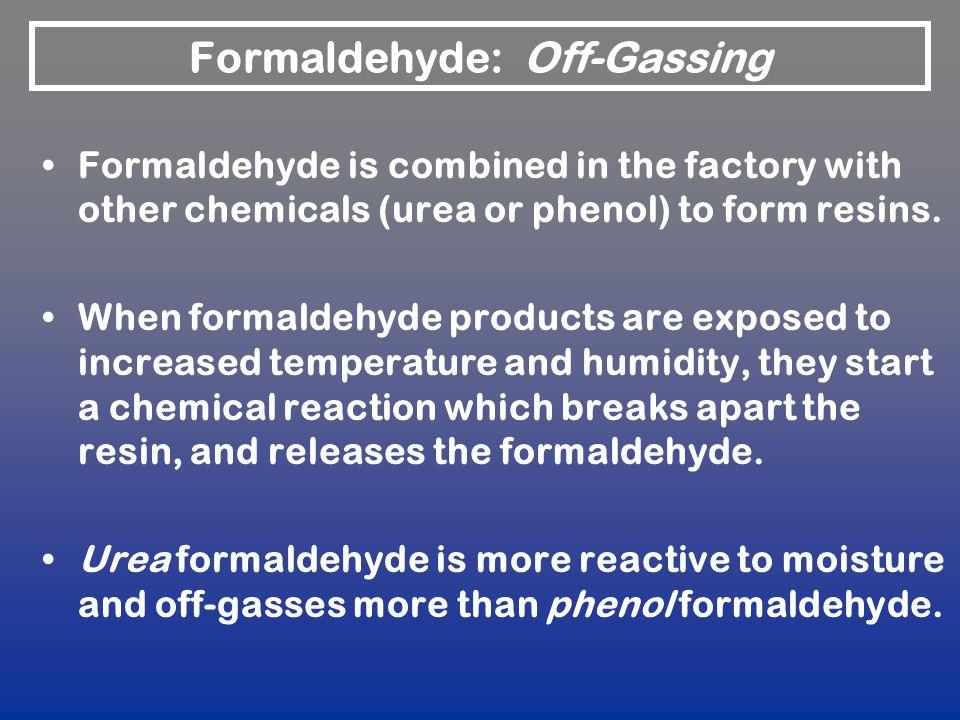 Formaldehyde: Off-Gassing