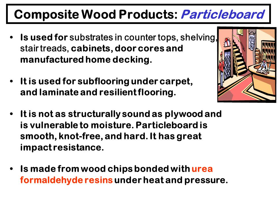 Composite Wood Products: Particleboard