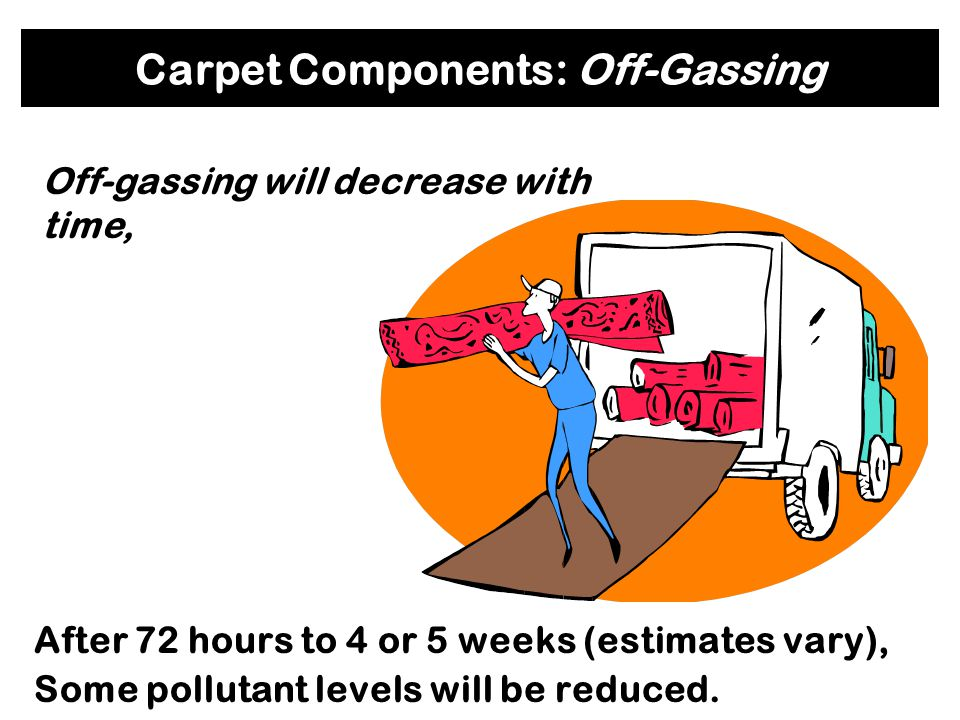 Carpet Components: Off-Gassing