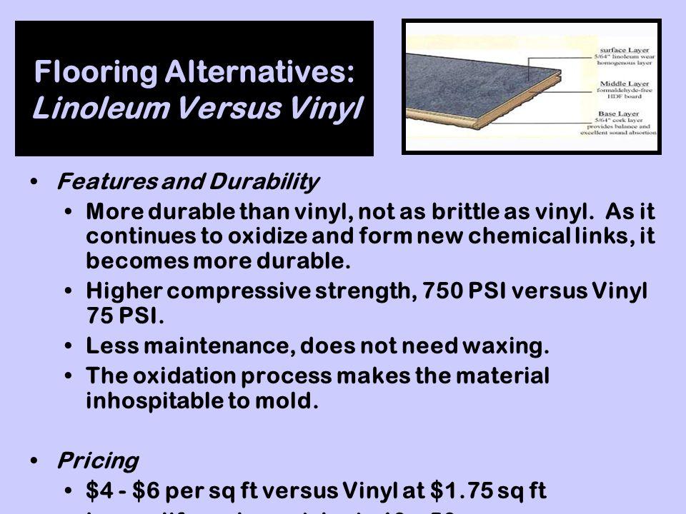 Flooring Alternatives: Linoleum Versus Vinyl