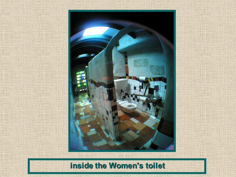inside the Women s toilet