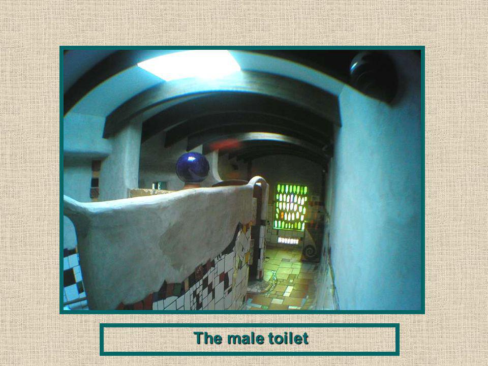 The male toilet