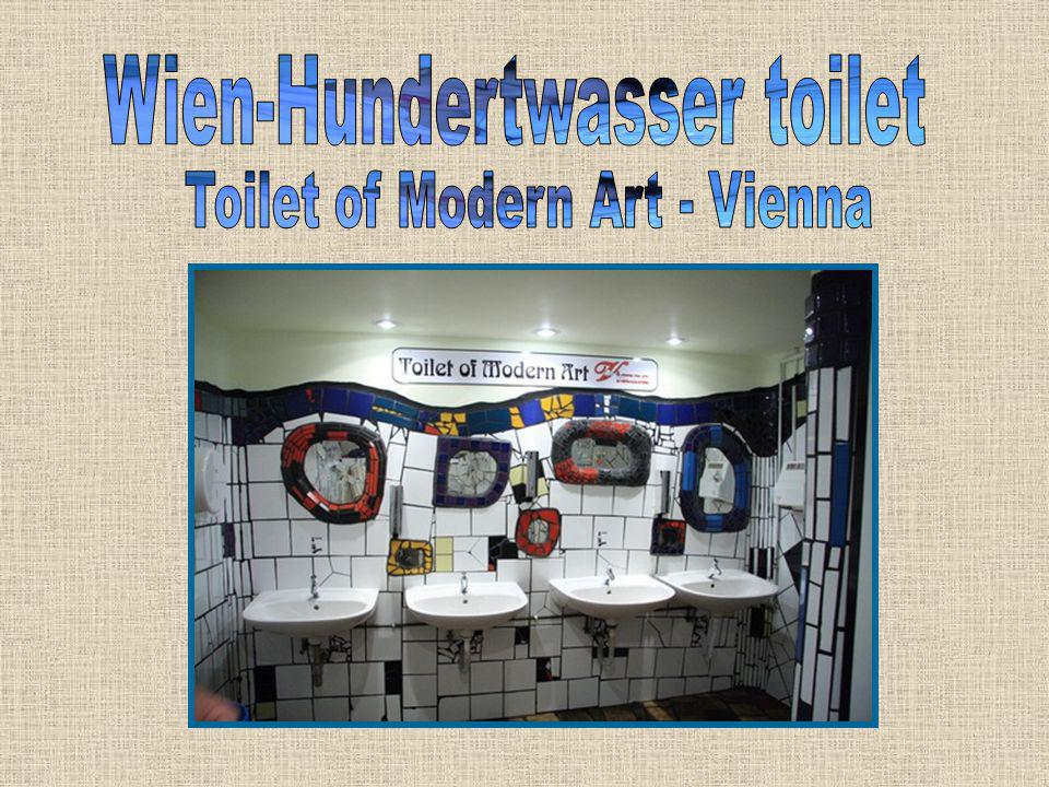 Wien-Hundertwasser toilet Toilet of Modern Art - Vienna