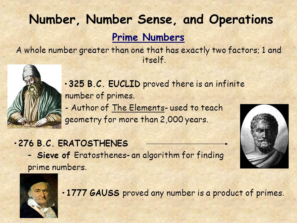 Number, Number Sense, and Operations
