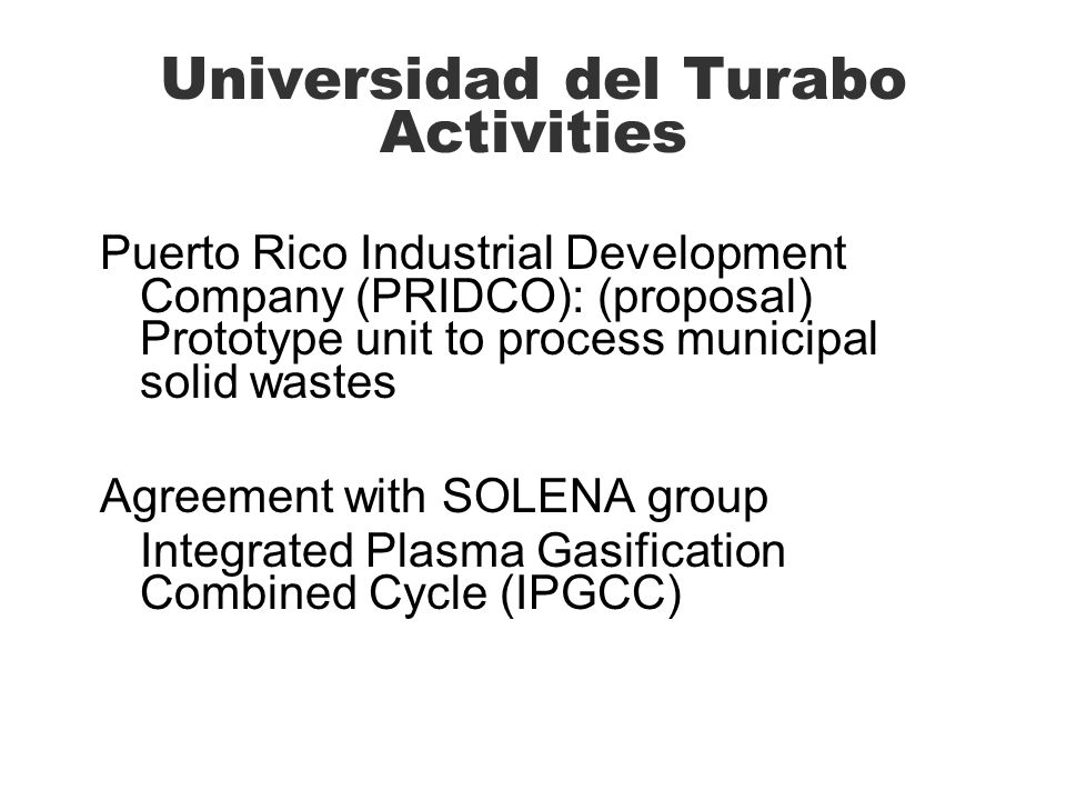 Universidad del Turabo Activities
