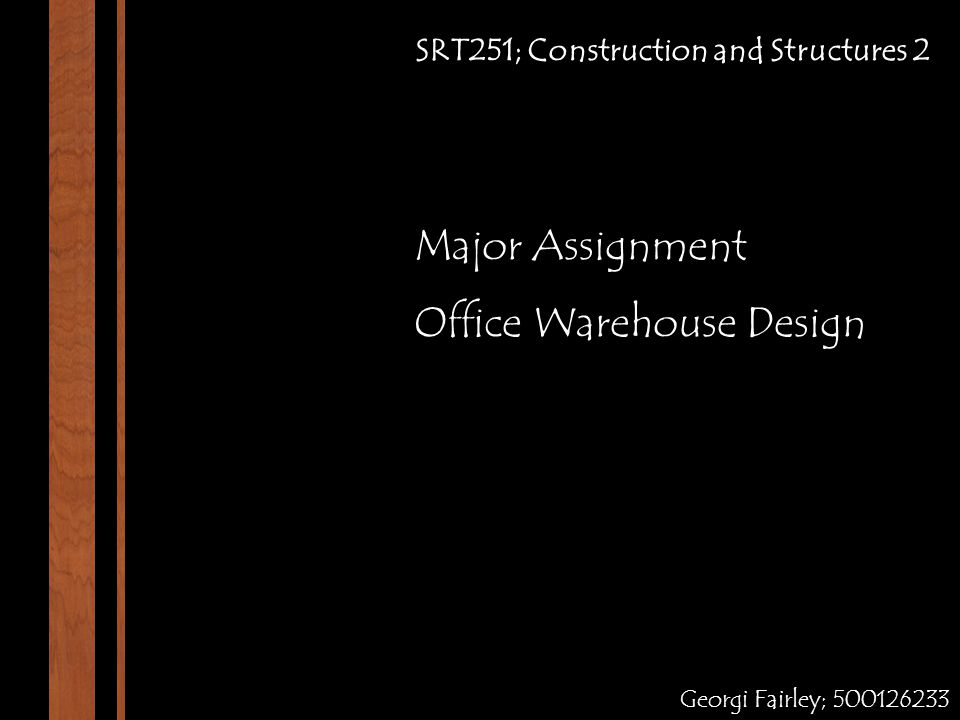 Office Warehouse Design