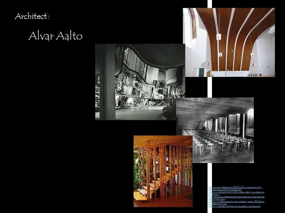 Alvar Aalto Architect :