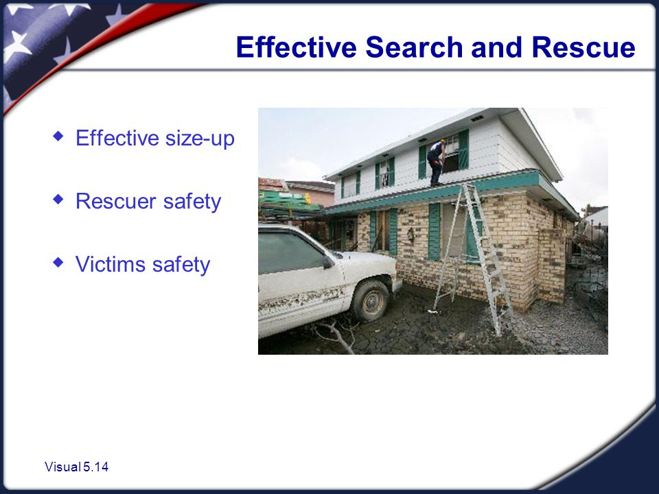 CERT Search and Rescue Size-up