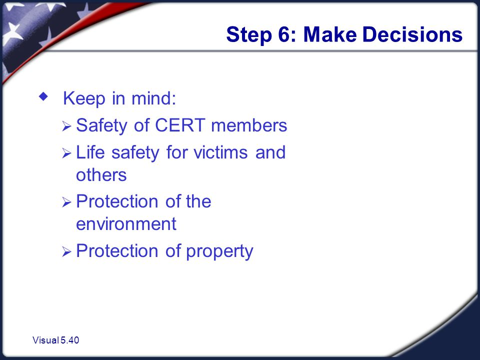 Step 7: Develop Plan of Action