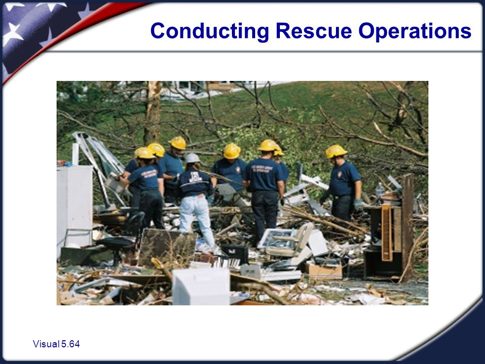 Conducting Rescue Operations