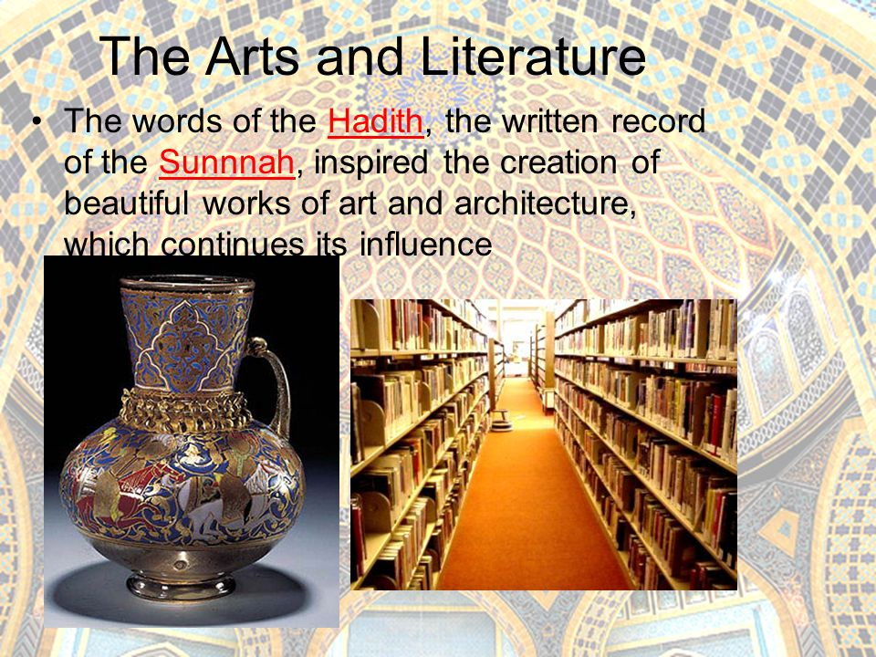 The Arts and Literature