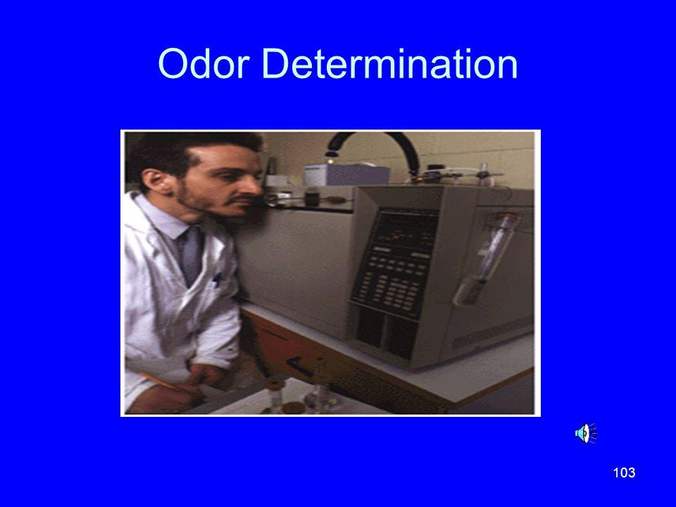 Odor Determination