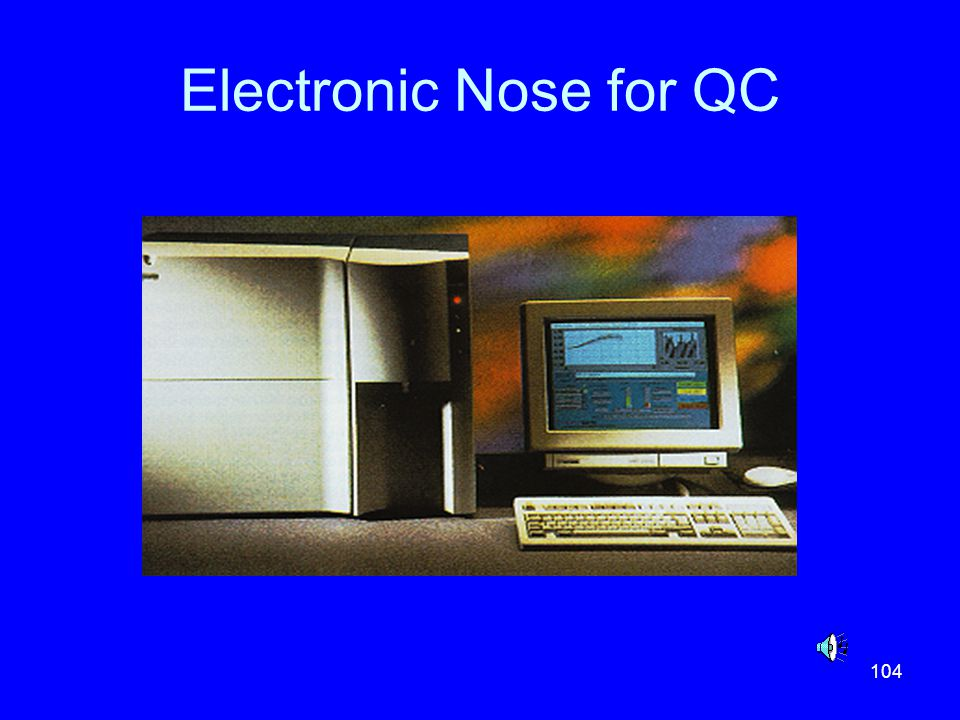 Electronic Nose for QC