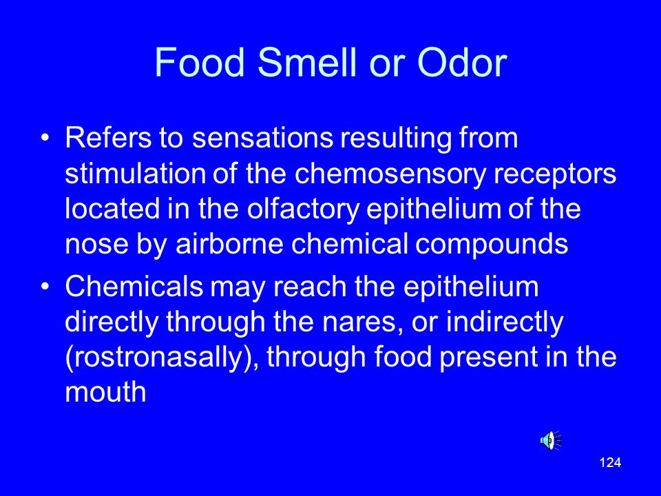 Food Smell or Odor