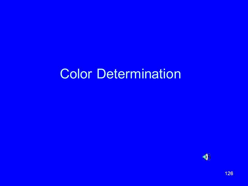 Color Determination
