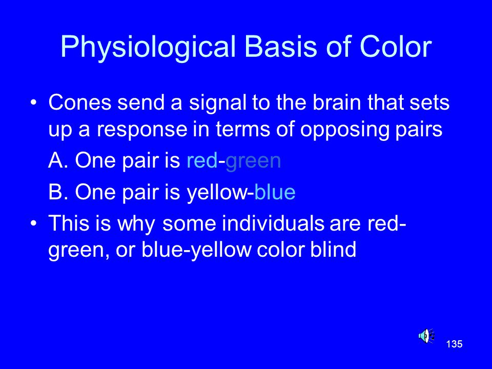 Physiological Basis of Color