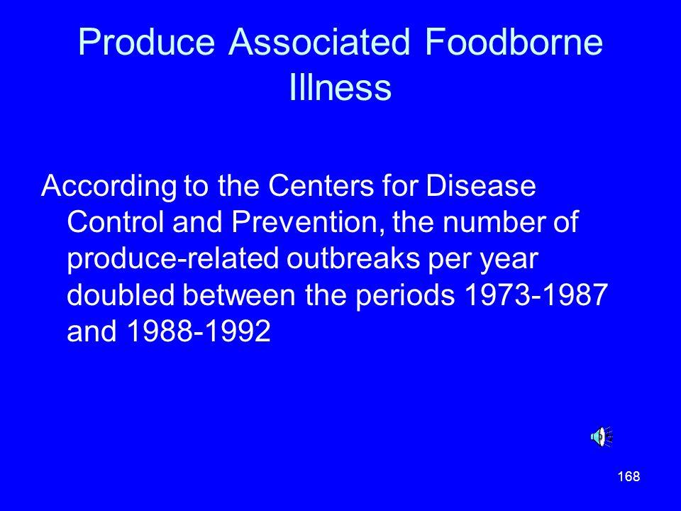 Produce Associated Foodborne Illness
