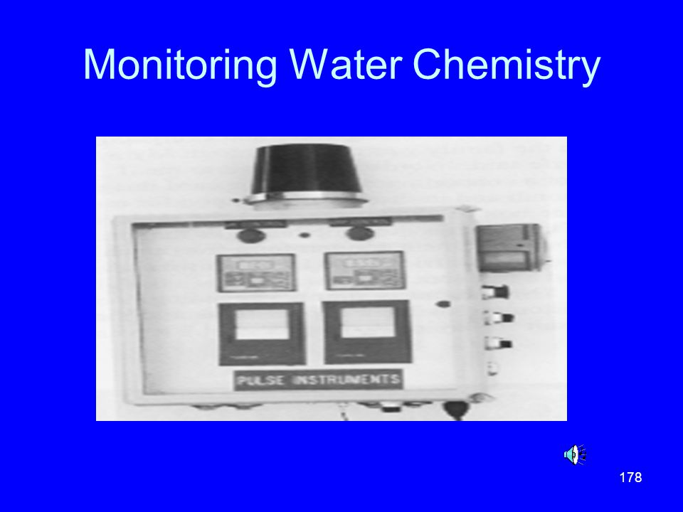 Monitoring Water Chemistry