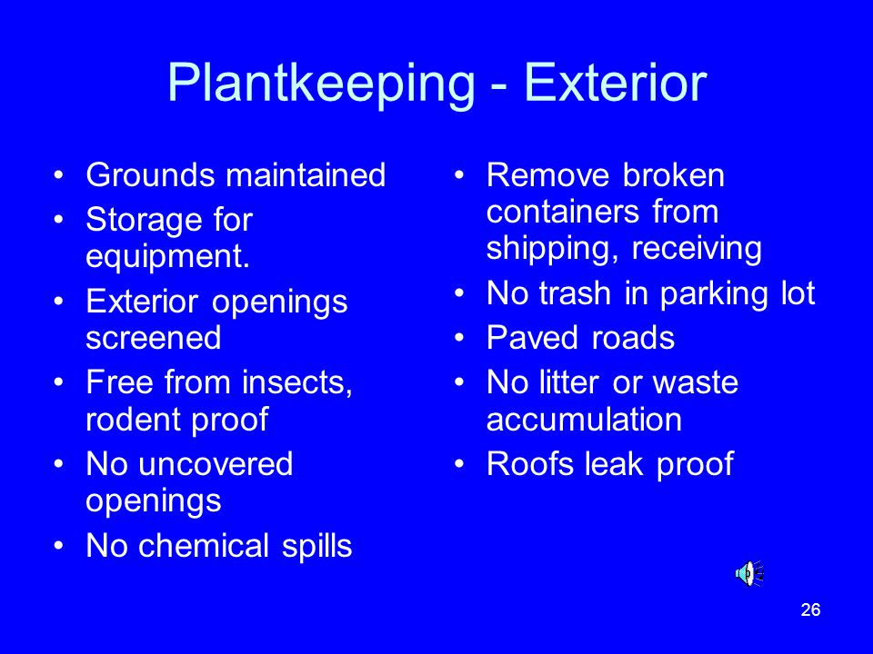 Plantkeeping - Exterior