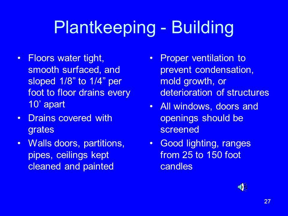 Plantkeeping - Building